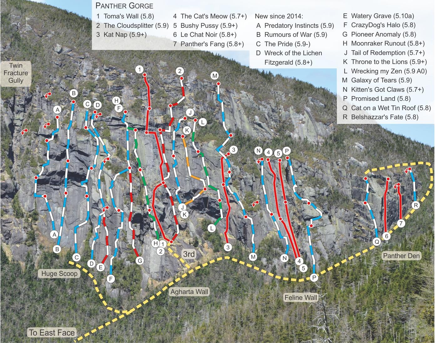 Adirondack Rock - New Routes